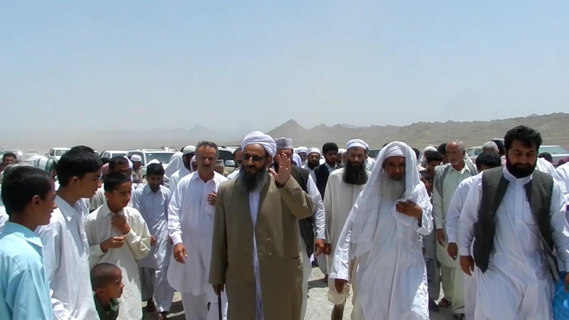 ورود شیخ الاسلام به چانف وبخش آهوران